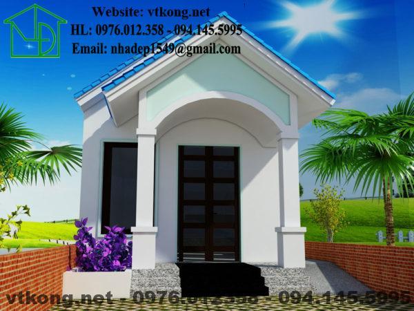Nhà cấp 4 mái thái NETNC4127