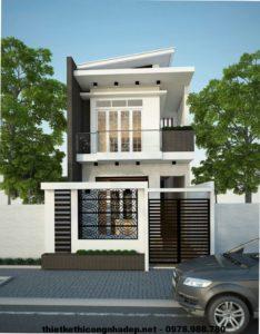 Ngắm nhìn vẻ đẹp của mẫu thiết kế nhà 2 tầng đẹp