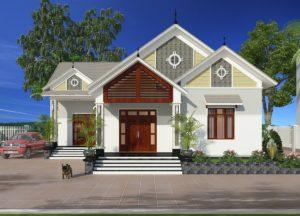 Thiết kế biệt thự 1 tầng đẹp ở Đại Từ- Thái Nguyên NETBT1T29
