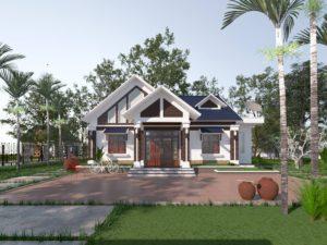 Mẫu thiết kế nhà cấp 4 hiện đại ở Thanh Hóa NETNC4136