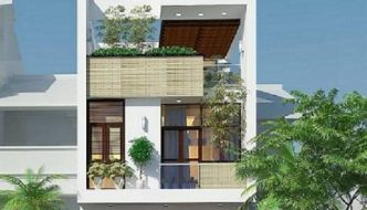 Thiết kế nhà 2 tầng, nhà 2 tầng 1 tum đẹp ở Cao Bằng NETBT2T193