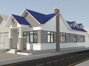 Mẫu thiết kế nhà cấp 4 đẹp ở Sài Gòn NETNC4141