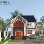 Mẫu thiết kế nhà cấp 4 gác lửng mái thái ở Bắc Ninh NETNC4145