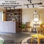 Thiết kế quán cafe phong cách hiện đại ở Lê Ngọc Hân- Hà Nội NETCF1