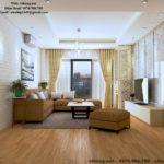 Thiết kế nội thất căn hộ chung cư cao cấp ở Hồ Gươm Plaza NETNT01